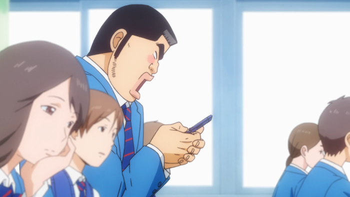 Takeo's first dickpic.