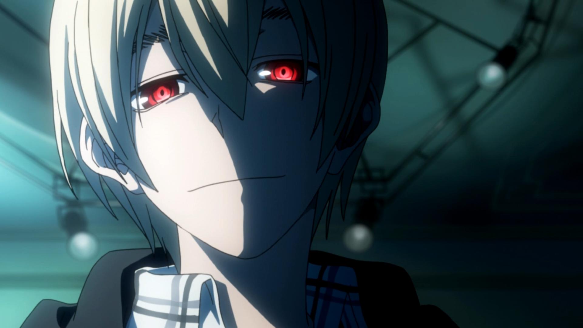 Anime Characters Red Eyes : Blood blockade battlefront betteranime