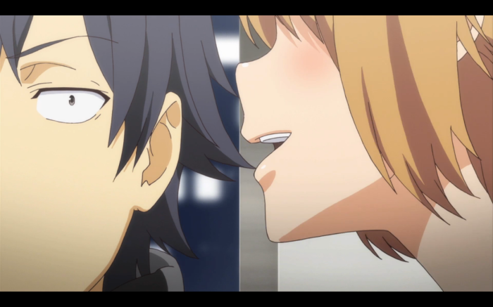 Yui's remix of The Whisper Song has so far failed to win Hachiman's heart.
